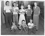 Cabell School model plane club, Huntington,WVa, ca.1950's