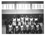 St. Joseph's High School Basketball team, #33 Fredrick White, ca. 1950's