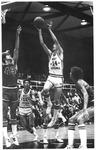 WVU vs Marshall basketball, Memorial Field House, 1978