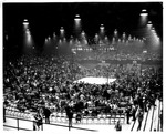 Boxing event, Memorial Field House, ca. 1950's
