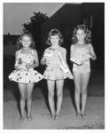 Winners of Miss Washington Playground competition, July 1951
