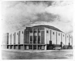 Exterior view, Memorial Field House, Huntington,WVa, 1951