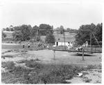 Culloden school playground, Culloden, WVa, ca.1951
