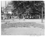 Miller Elementary School playground, Huntington,WVa, 1951