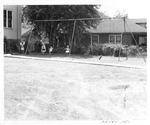 Fetty School playground, Huntington,WVa, 1951