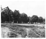 Enslow School playground, Huntington,WVa, 1951