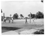 Ona elementary School playground, Ona,WVa, 1951