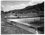 Westmoreland wading pool repairs, Huntington,WVa, June 1957