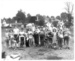 Pet show at Gallaher School playground, Huntington,WVa, July 1951