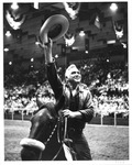 Actor Lorne Greene at Memorial Field House, Aug 1963