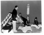 Animal act, Memorial Field House, Feb., 1952