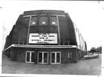 Panoramic view of front of Memorial Field House, Huntington,WVa, ca..1972