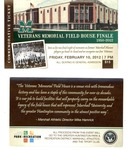 Tickets to last basketball game played in Memorial Field House, Huntington,WVa, Feb 10,2012, col.
