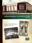Program for last basketball game played in Memorial Field House, Huntington,WVa, Feb 10,2012, col.