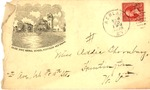 Envelope with Marshall College image, dated Sept. 1899, col.