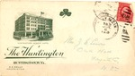 Envelope from the Huntington Hotel, postmarked July 6, 1919, col.
