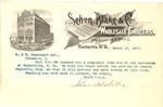 Letter on Sehon, Blake & Co. letterhead to N&W Railroad, Mar. 15, 1897, col.