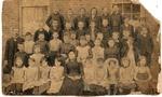 Students and teachers at 4th Avenue Buffington School, Huntington,WVa., 1885