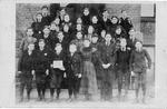 Students and teachers at 4th Avenue Buffington School, Huntington,WVa., 1895