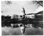 WVa State Capitol building being completed, Mar., 1932,