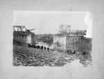 Guyandotte, WVa, railroad bridge disaster, Jan. 1913