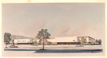 Architects drawing of proposed Mack & Dave's stor