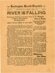 Small special edition of Huntington Herald-Dispatch about 1913 flood, Apr. 1, 1913, b&w..