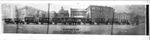 Panoramic view of Huntington,WVa Post Office fleet, 1923