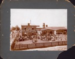 D. E. Abbott frame factory, Huntington, ca 1890