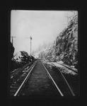 Big Sandy Div., N&W RR, cut & 1st turn 1/2 mile from Kenova, 1906