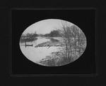 Log rafts on 12 Pole Creek near Camden Park, 1906