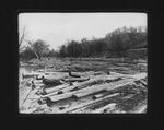 Log jam on 12 Pole Creek, Wayne Co., W.Va., 1906