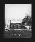 Log cabin at Kenova, W.Va., 1906