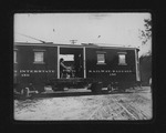 Camden Interstate Rwy baggage car #150, 7th St & 3rd Ave, 1906