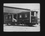 Camden Interstate Rwy baggage car #150, 3rd Ave freight depot, 1906