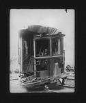 Car #101 after Camden Interstate Railway wreck, Apr. 11, 1906