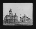 Cabell County courthouse & jail, Huntington, W.Va. 1906