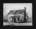 Log cabin near Home for Incurables, Huntington, W.Va. 1906
