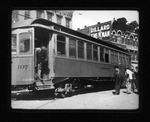 Car #107 at 9th St & 3rd Ave, Huntington, W.Va., 1906