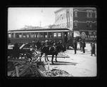 Car #107 Camden Interstate Rwy l9th St & 3rd Ave, Huntington, W.Va., 1906