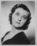 Jane B. Shepherd (Jane Hobsonf) first publicity photo, 1945