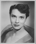 Jane B. Shepherd (Jane Hobson)publicity photo, mid-1950's