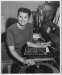 Jane B. Shepherd, (Jane Boedeker), (Jane Hobson) as d.j. for WSAZ Radio
