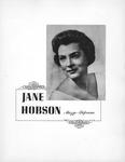 Jane B. Shepherd, (Jane Boedeker), (Jane Hobson) photo & flyer, 1960's