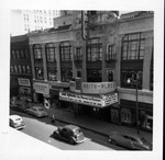 Huntington's keith-Albee Theater, with jane Hobson on maarque, ca. 1950's