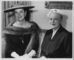 Jane Shepherd (Hobson) & Margaret Niekamp Stein, 1957