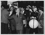 Jane Shepherd (Hobson) with Karl Kritz, Met conductor by Louise Pote