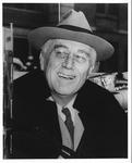 President Franklin Delano Roosevelt in New York City, oct. 28, 1944