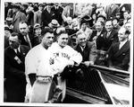 Franklin Delano Roosevelt & Charlie Grimm, 1932 World Series, game 3