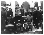 Franklin Delano Roosevelt and Joseph Stalin at the Yalta Conference, Feb. 9, 1945